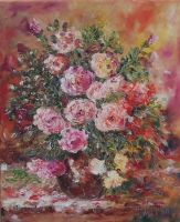 flowers roses by ENERGIA1