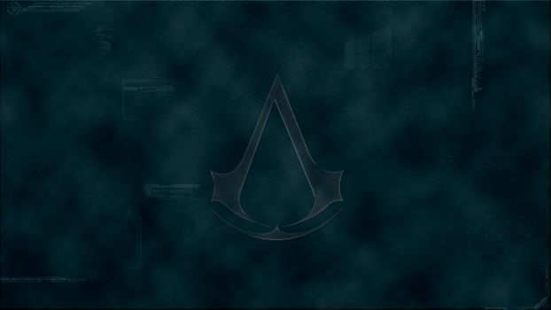 Assassin's Creed blue Animus (Widescreen version) by Eragon2589