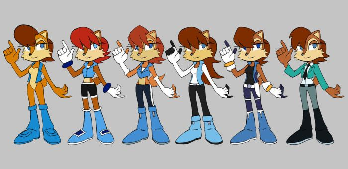 More Sally Designs by Congo-Love-Line