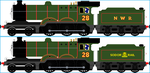 Sarah the LNER B12 by Galaxy-Afro