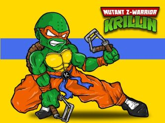 Mutant Z-Warrior Krillin by KoscheiTheDeathless