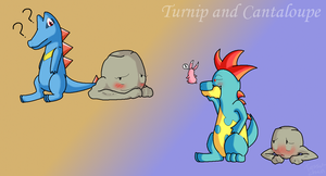 Marriland Wedlocke - Turnip and Cantaloupe by TessuDraws