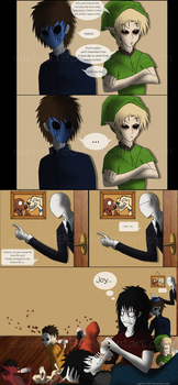 Adventures With Jeff The Killer - PAGE 28 by Sapphiresenthiss