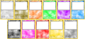 Pokemon Blank Card Templates - Basic by LevelInfinitum