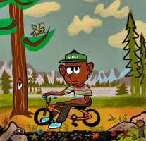 Tyler The Creator's 'WOLF' (Yogi Bear Style) by TOON-STER