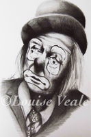 Clown (02) by Louise-Veale