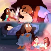 Steven and Connie by JuliFaima