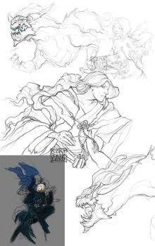 sketchdump by otoimai