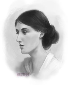 Portrait Study 2 by hobbittiponi