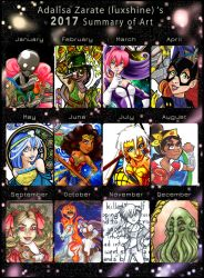 2017 Summary of Art by luxshine