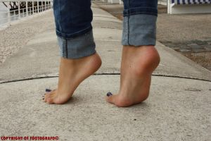 Areana In Tiptoes 4 by Footografo
