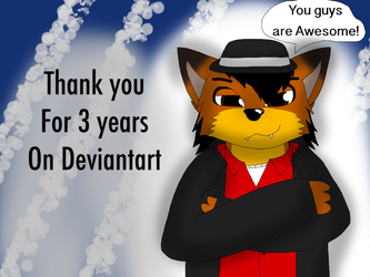 3 years on Deviantart (plus Video) by ZachMFKAttack