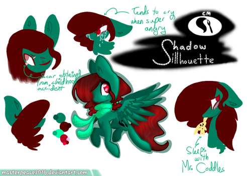 Shadow Silhouette | REF Sheet by MasterPeace2016