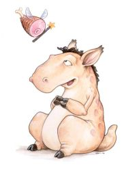 Edgar and the Ham Fairy by ursulav