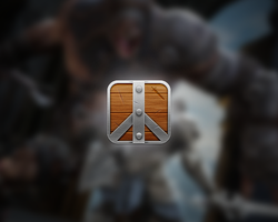 Infinity Blade Icon by montydesi