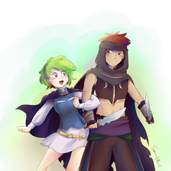 Secret Santa 2017: Jaffar x Nino by melidichan