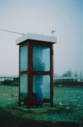 Phone Booth by LordMydlous