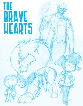 The Brave Hearts by bleedman