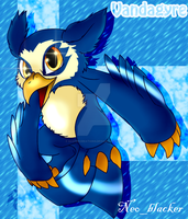 Blue Vandagyre---Neopets!- by DasterCreations