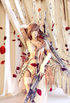 Lightning Farron: Queen of Spades by LaceWingedSaby
