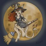 Abbie as a witch by Abi-Gale