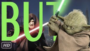 Thumbnail for Yoda VS Palpatine lightsaber duel by BUTchannel