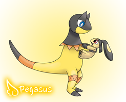 Heliolisk and Baby Mawile