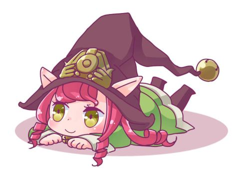 League of Legends:dragon trainer lulu gif by MizoreAme