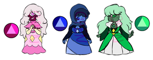 -CLOSED- Sapphire Adopts! PRICE REDUCED by Bananeurysms
