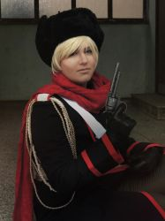 APH Russia cosplay ( soviet ) by HimeKagamine