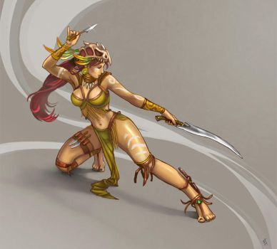 Amazon Warrior by Vermin-Star