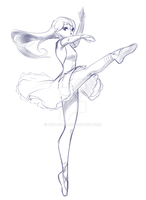 week 16 - Ballerina2 by rika-dono