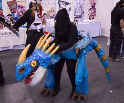 Rin the Deadly Nadder - MCM London by Kant-Predict