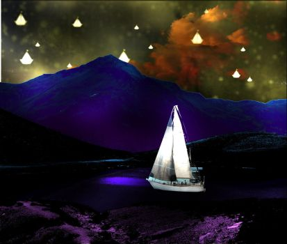 Sailboats wish they were Stars by singinglamp