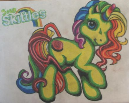 My Little 'SKITTLES' by GINI-BEANIE