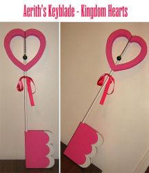 Aerith's Keyblade by Stars-of-the-Water