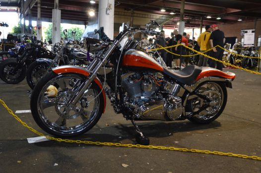 bankstown custom motorcycle show 2017 harley by WolfBlitz2