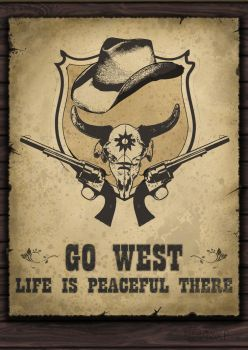 Go West poster by Protey17