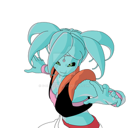 Gumi Xenoverse 2 OC (Ai Draws) by G-Extreme