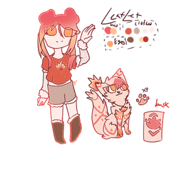 Autumn Leaf adopt .:OPEN:. by Rosypearll