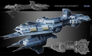 Mainship_concept_ver.2 by Obey-art