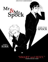 ST: Mr. and Mr. Spock by CanneDeBonbon
