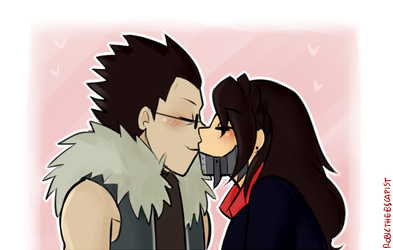 _YCH:FMAKiss_ by RobicTheEscapist