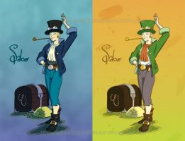 One Piece: Sabo giftart colour by The-Replicant