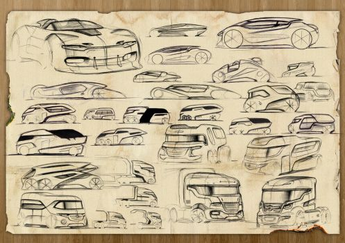 Bunch of sketches by Samirs