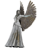 Angel Statue PNG 06 by neverFading-stock
