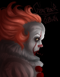 Goretober Day 15: Free day/Clown by JDGaming2001