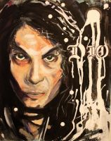 Ronnie James Dio by DRDAquila