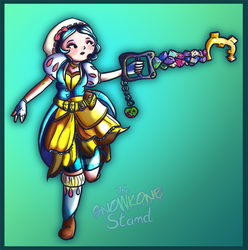 KH3: Snow White by kellieabomination