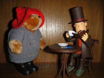 Layton and the Peruvian Bear by Skyepie